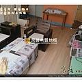 無縫抗潮-賓賓系列-03261309-洗白柚木-忠孝東路五段 超耐磨木地板.強化木地板