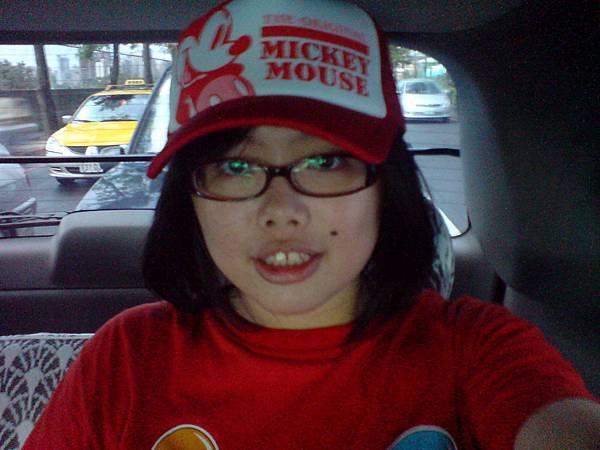 剛買的帽子