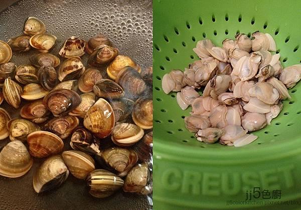 韓式蛤蜊涼麵
