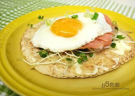 燻鮭太陽蛋Pita Bread