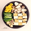 鮭魚味噌豆腐煲