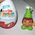Kinder surprise 里的玩具