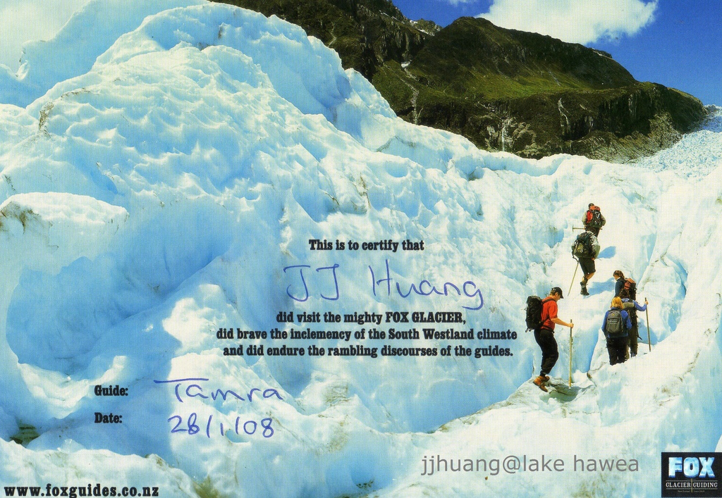 Certificate for walk of fox glacier.jpg