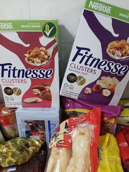 My favourite breakfast cereal - Fitnesse Cluster Banana-nut