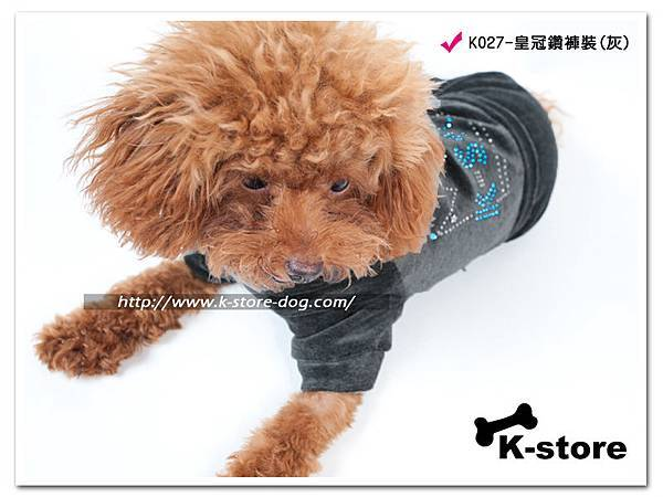 K027-皇冠鑽褲裝(灰)-2.jpg