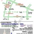卡卡來台中交通管制行程圖