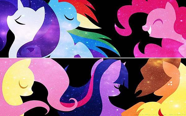 pony主要角色