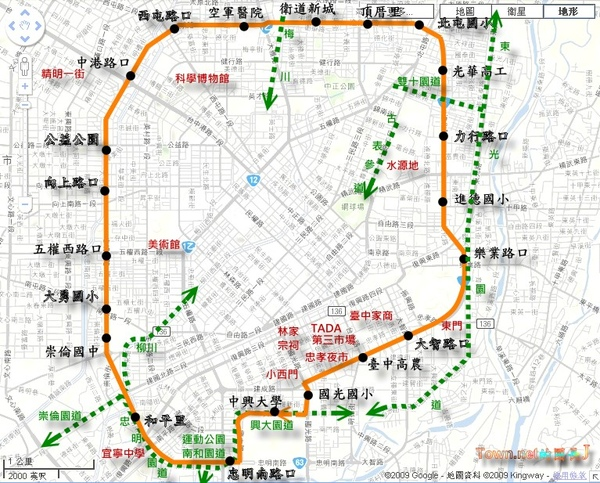 TTJ52路線圖