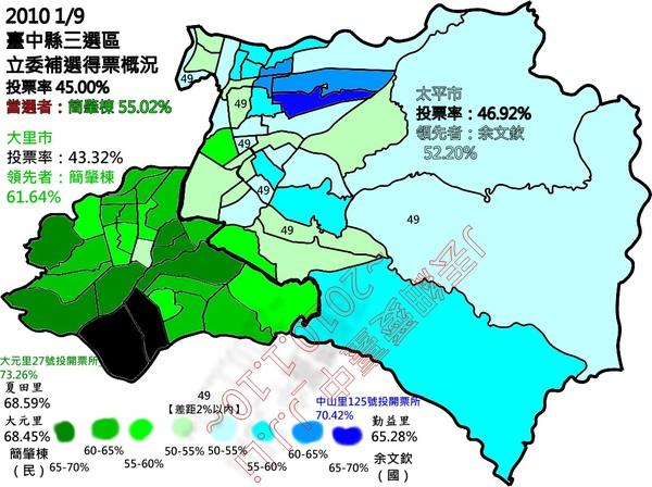 2010立委補選中縣三