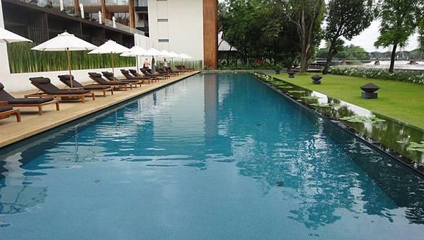 The Chedi游泳池1