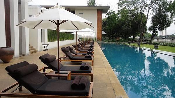 The Chedi游泳池3