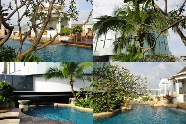 洲際飯店游泳池2