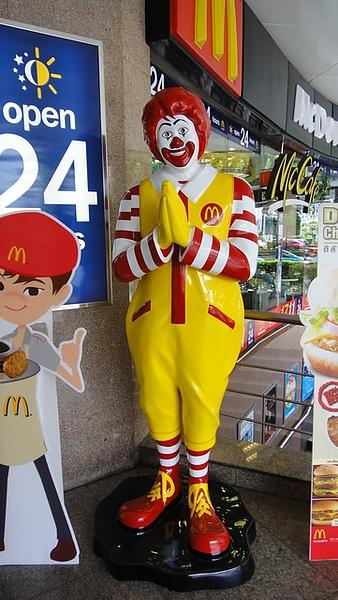 泰國的麥當勞叔叔