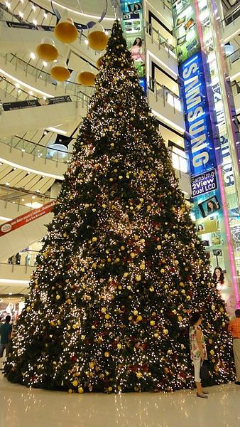 Central World的聖誕樹