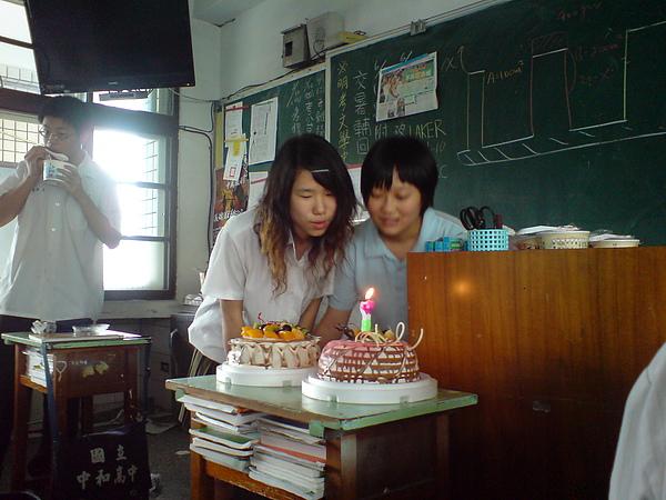 祝[沖名的]女兒跟香瑩兒生日快樂!!