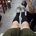 這個短腿女人說她腿很長