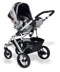 uppababy with infant car seat