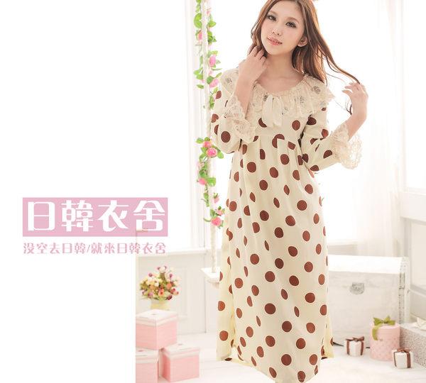 日韓衣舍-2013春夏新款搶鮮上市 女神系列長裙睡衣
