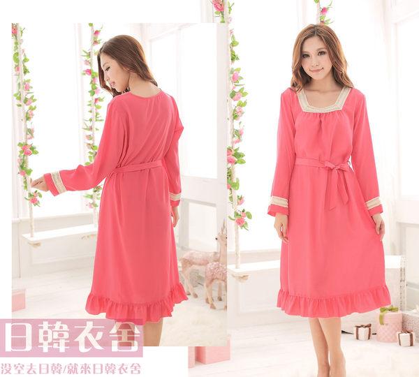女神系列長袖長裙#0096...西瓜紅一件現貨特價