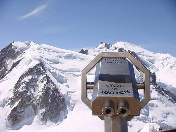 歐洲最高峰—白朗峰