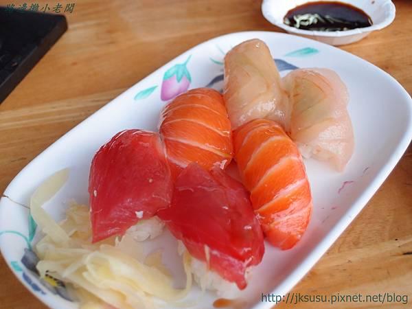 P2176158綜合生魚壽司$130