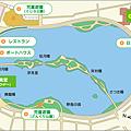 大濠公園地圖