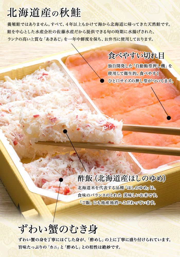 石狩鮨 880円
