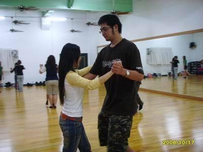 學過國標舞哦