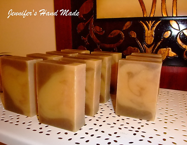 鬱金香綠茶牛乳皂