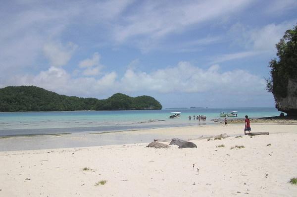長沙灘島之一