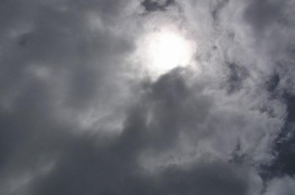 長沙灘島的天空