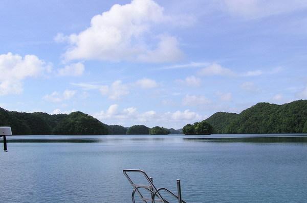 水母湖入口