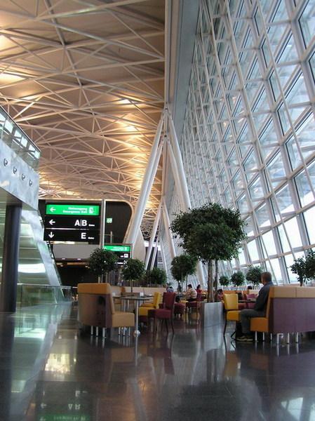 蘇黎世機場休息區