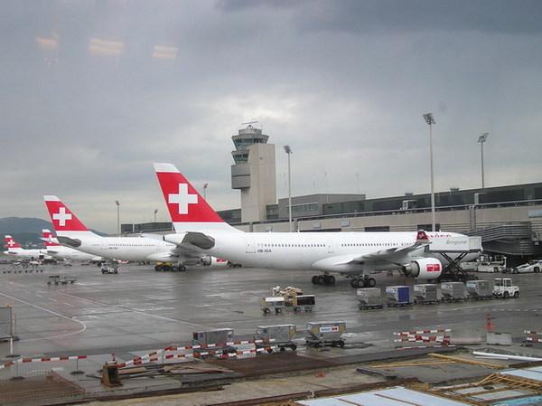 瑞士航空班機