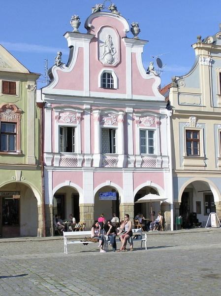 粉紅色的房子