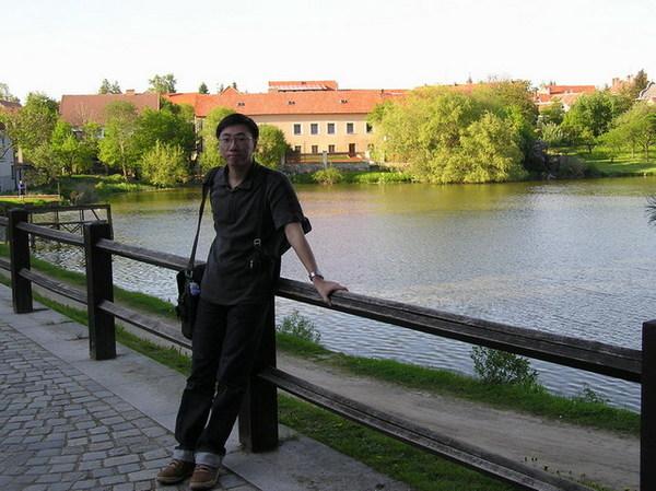 廣場旁邊的Štěpnický rybník湖