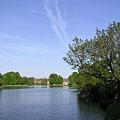 Štěpnický rybník湖上風光
