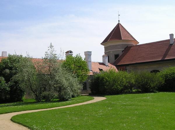 Telč城內部庭園