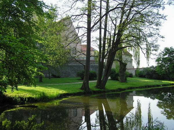 城堡花園小門