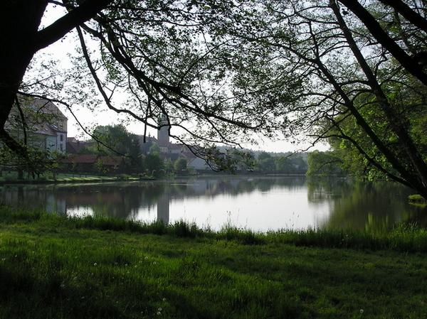 Ulický rybník湖畔