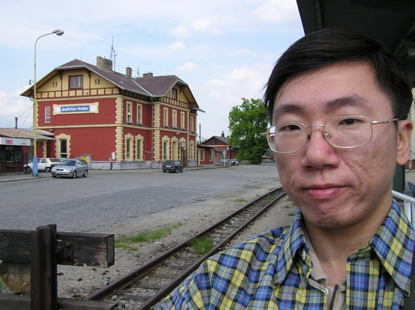 火車站自拍