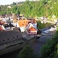 俯瞰Český Krumlov