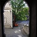 城堡入口廣場