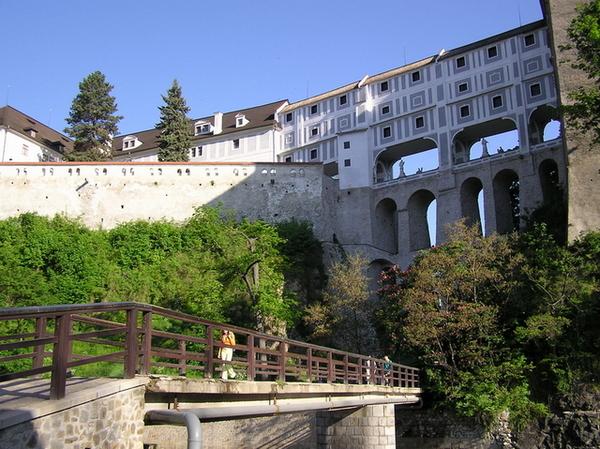 Český Krumlov城堡