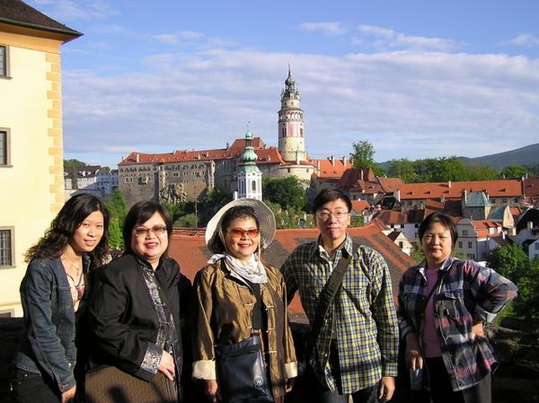 地點:Český Krumlov舊城區