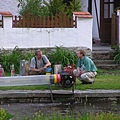 地點:Český Krumlov河畔