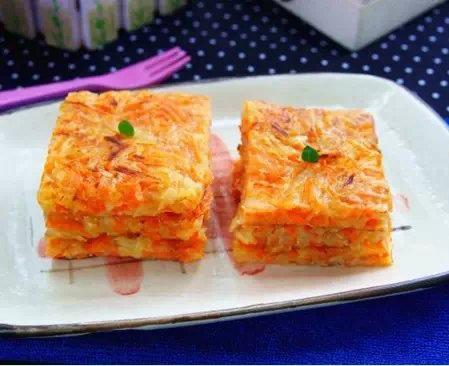 胡蘿蔔土豆煎餅
