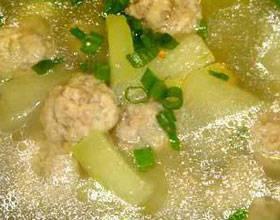 燒冬瓜丸子湯