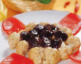 鮮菇炒花菜