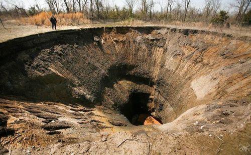 美國俄克拉荷馬州~皮謝爾陷坑